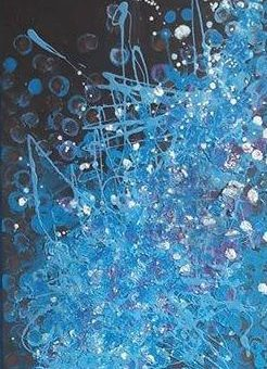 Painting abstract n. 15 (blue exciting)